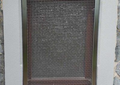 Edelstahl-Kellerfenstergitter